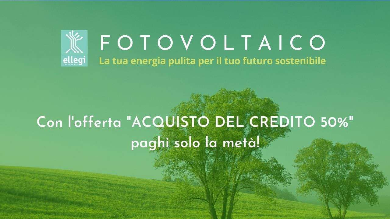 You are currently viewing Offerta impianti fotovoltaici